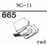 C.E.C. MC-11 Stylus, diamond, stereo