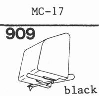 C.E.C. MC-17 Stylus, diamond, stereo