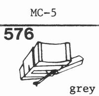 C.E.C. MC-5 Stylus, diamond, stereo