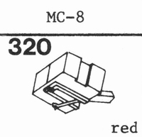 C.E.C. MC-8 Stylus, DS<br />Price per piece