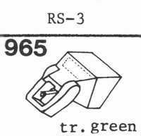 C.E.C. RS-3 TR.GREEN Stylus, DS