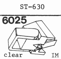 C.E.C. ST-630 Stylus, diamond, stereo