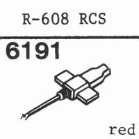 CONER R-608 RCS, Stylus, diamond, stereo