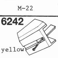 DARLING M-22 YELLOW Stylus, diamond, stereo
