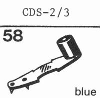 DUAL CDS 2/3 Stylus, SN/DS