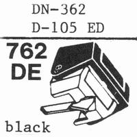 DUAL D-105 ED; DN-362 Stylus, DE