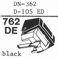 DUAL D-105 ED, Diamond, normal (78rpm) -362 Stylus, diamond,