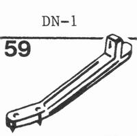 DUAL DN-1 Stylus, sapphire normal (78rpm) + sapphire stereo