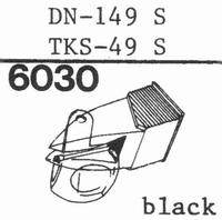 DUAL DN-149 S, Stylus, diamond, stereo