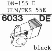 DUAL DN-155 E, ULM/TKS 55E Stylus, diamond, elliptical