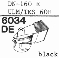 DUAL DN-160 E, ULM/TKS-60E Stylus, DE
