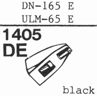 DUAL DN-165 E- COPY - Stylus, diamond, elliptical