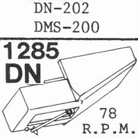 DUAL DN-202(78 RPM !) Stylus, COPY<br />Price per piece