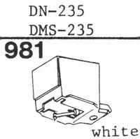 DUAL DN-235,DN-239, diamond, ellipticalNON DP-29 Stylus, dia