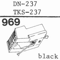 DUAL DN-237, TKS-237 Stylus, diamond, stereo