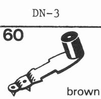 DUAL DN-3 Stylus, sapphire normal (78rpm) + sapphire stereo
