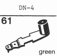DUAL DN-4 Stylus, diamond, stereo