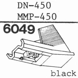 DUAL DN-450 Stylus, diamond, stereo, original