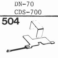 DUAL DN-70, CDS-700 Stylus, DS<br />Price per piece