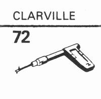 EDEN CLARVILLE Stylus, sapphire normal (78rpm) + sapphire st