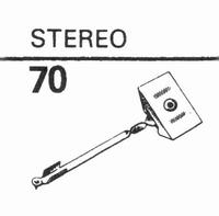 EDEN STEREO Stylus, diamond, stereo