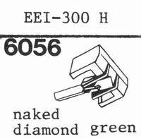 EEI 300H Stylus, diamond, stereo
