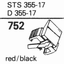 ELAC D-355 E Stylus, diamond, elliptical