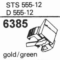 ELAC D-555-12 Stylus, diamond, stereo