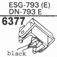 ELAC D-793 E Stylus, diamond, elliptical