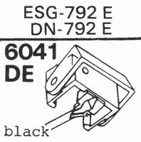 ELAC ESG-792 E, Diamond, normal (78rpm) -792 E Stylus, diamo