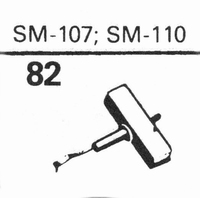 ELAC SM-107, SM-110 Stylus, diamond, stereo