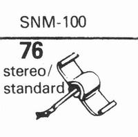 ELAC SNM-100 Stylus, sapphire normal (78rpm) + sapphire ster