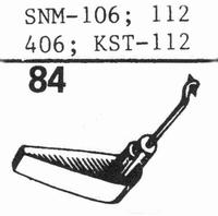 ELAC SNM-106, DMSN-112 Stylus, sapphire stereo + diamond ste