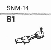 ELAC SNM-14 Stylus, sapphire stereo + diamond stereo