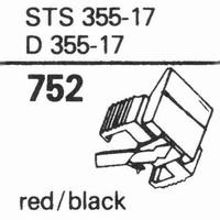 ELAC STS 355-17 Stylus, diamond, stereo