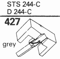 ELAC STS-244-E, D-244 E Stylus, diamond, elliptical