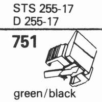 ELAC STS-255 E, D-255 E Stylus, diamond, elliptical