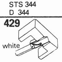 ELAC STS-344-E, D-344-E Stylus, diamond, elliptical