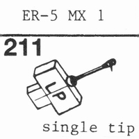 ELECTRONIC REPRODUCERS ER 5 MX 1 Stylus, diamond, stereo