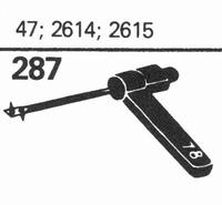 ELECTRO-VOICE 47, 2614, 2615 Stylus, SN/DS