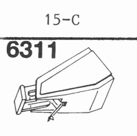 EMPIRE 15 C Nadel, Diamant, Stereo