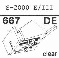 EMPIRE 2000 E/III Stylus, DE