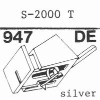 EMPIRE 2000 T Nadel, Diamant, elliptisch