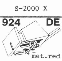 EMPIRE 2000 X Nadel, Diamant, elliptisch