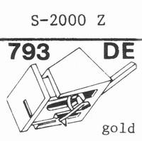 EMPIRE 2000 Z Nadel, Diamant, elliptisch