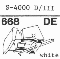 EMPIRE 4000 D/III Nadel, Diamant, elliptisch