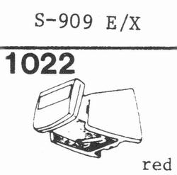 EMPIRE 909 E/X (schwarz) Nadel, Diamant, elliptisch