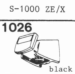 EMPIRE SCIENTIFIC 1000 ZE/X Nadel, Diamant, elliptisch