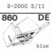 EMPIRE SCIENTIFIC 2000 E/II Nadel, Diamant, elliptisch