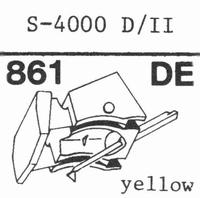 EMPIRE SCIENTIFIC 4000 D/II Nadel, Diamant, elliptisch